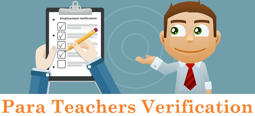 Para Teachers Verification
